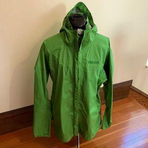 Marmot Green Rain Coat Jacket